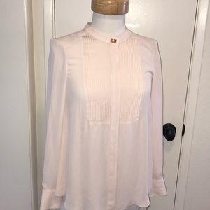 New Rachel Rachel Roy  pink dress shirt blouse XS